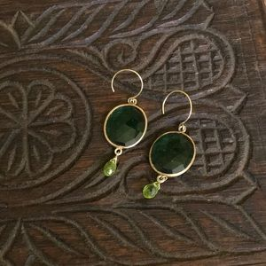 Jewelry - 4 for $10 Green earrings
